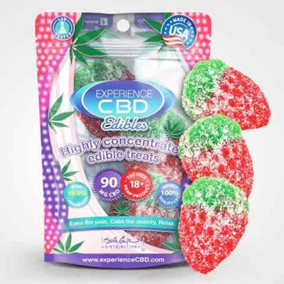 Experience CBD Strawberry CBD Gummies
