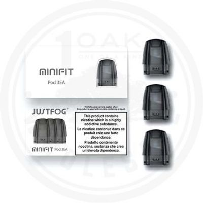 Justfog Minifit Replacement Pod (3 Pack)